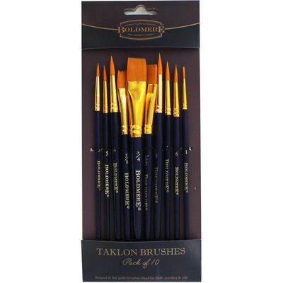 Boldmere Taklon Brushes